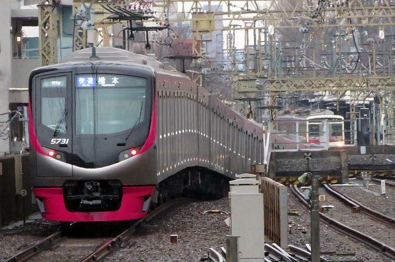 系 運用 5000 京王 京王電鉄